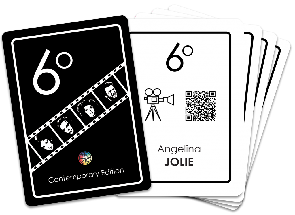 6 Degrees cards